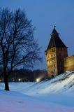 Novgorod el Kremlin 1 Fotos de archivo libres de regalías