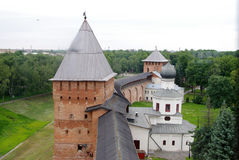 Novgorod forteca Fotografia Royalty Free