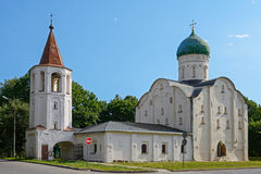Novgorod the Great, the Church of Theodore Stratelates Royalty Free Stock Photo