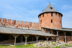 Novgorod the Great, Theodore the tower Royalty Free Stock Images