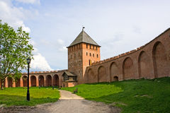 Novgorod het Kremlin stock foto