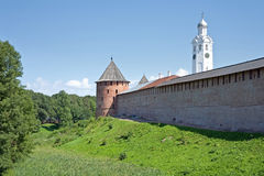 Novgorod het Kremlin Royalty-vrije Stock Afbeelding