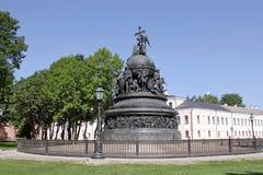In Novgorod het Kremlin Stock Afbeeldingen