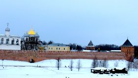 Novgorod Kremlin Photographie stock libre de droits