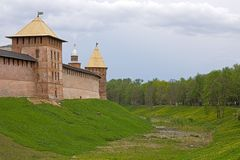 Novgorod Kremlin Stock Photo