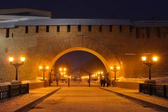 Novgorod Kremlin Stock Photography