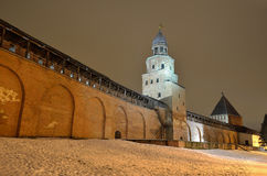 The Novgorod Kremlin Royalty Free Stock Photography