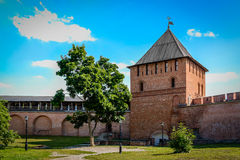 Novgorod Kremlin Lizenzfreies Stockfoto