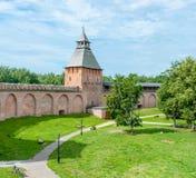 Novgorod Kremlin imagens de stock