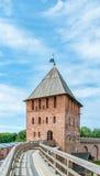 Novgorod Kremlin foto de stock