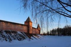 Novgorod Kremlin Images libres de droits