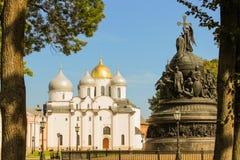 Novgorod kremlin Stock Image