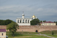 Novgorod Kremlin Royalty Free Stock Photography