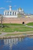 Novgorod Kremlin, Russia Stock Images