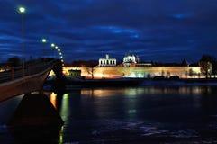 Novgorod Kremlin and St. Sophia Catedral in Veliky Novgorod, Russia Royalty Free Stock Photography