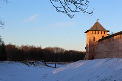Novgorod Kremlin Royalty Free Stock Photography