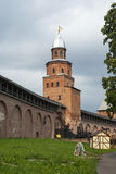 Novgorod Kremlin Royalty Free Stock Images
