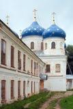 Novgorod, monastero della st George Fotografie Stock Libere da Diritti