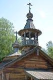 Novgorod. Museum of Wooden Architecture Vitoslavlitsy Stock Image