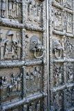 Novgorod pode a porta 2018 central da catedral foto de stock royalty free