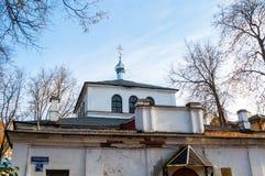 novgorod Russia veliky Świątynia męczennik Panteleimon Wielki uzdrowiciel i, zbliżenie jesieni widok obrazy stock