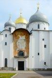 Novgorod Wielki Świątobliwa Sophia katedra Obraz Stock