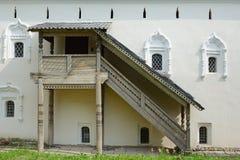 Novgorod Wielki, Likhudov budynek Zdjęcie Royalty Free