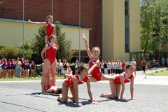 novi гимнастики случая унылое Стоковые Фотографии RF