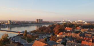 novi унылая Сербия стоковое изображение rf