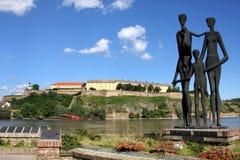 novi унылая Сербия стоковые изображения