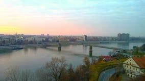 Novi унылое, Сербия Стоковые Фотографии RF