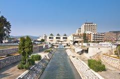 Novi centrum miasta Pazar Fotografia Stock