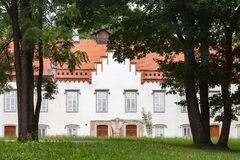 Novi Dvori slott i Zapresic, Kroatien Arkivbilder