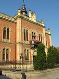 novi pałacu biskupa jest smutny Serbii Fotografia Royalty Free