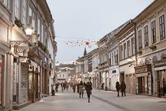 Novi Sad Σερβία Στοκ φωτογραφίες με δικαίωμα ελεύθερης χρήσης