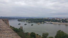 Novi Sad-Ansicht Stockbilder