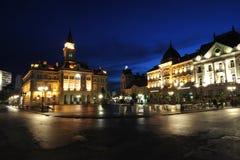 Novi Sad, ayuntamiento Imagen de archivo libre de regalías