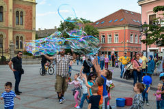Novi Sad city center Stock Image