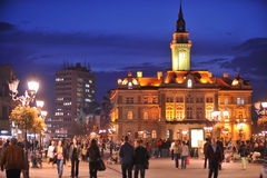 Novi Sad, City Hall Royalty Free Stock Photos