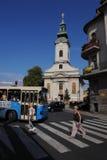 Novi Sad, iglesia de Rusyn Foto de archivo