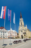 Novi Sad - The Name of Mary Cathedral royalty free stock image