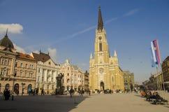 Novi Sad, The Name of Mary Church is a Roman Catholic parish church in Novi Sad, Serbia. The Name of Mary Church is a Roman Catholic parish church in Novi Sad Stock Image