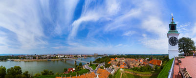 Novi Sad panorama - Serbia Royalty Free Stock Image