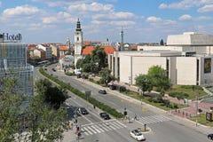 Novi Sad podczas słonecznego dnia Zdjęcie Stock