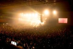 ` 2016, Novi Sad, Sérvia do godine de Koncert do ` Imagens de Stock