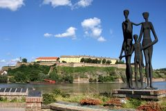novi SAD serbia arkivbilder