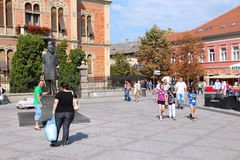Novi Sad Royalty Free Stock Images