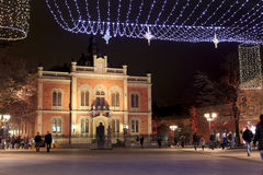 Novi Sad, Serbia, nowy rok fotografia stock