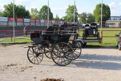 Novi Sad, Serbien, 20 05 2018 angemessener, schwarzer Wagen Lizenzfreie Stockfotografie
