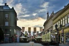 Novi Sad serbstad Fotografering för Bildbyråer